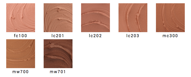 INGLOT — AMC MOUSSE FOUNDATION оттенки