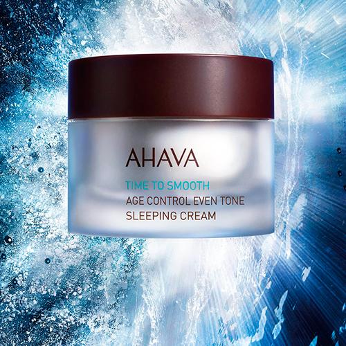 AHAVA - Time To Smooth Age Control Even Tone Sleeping Cream
